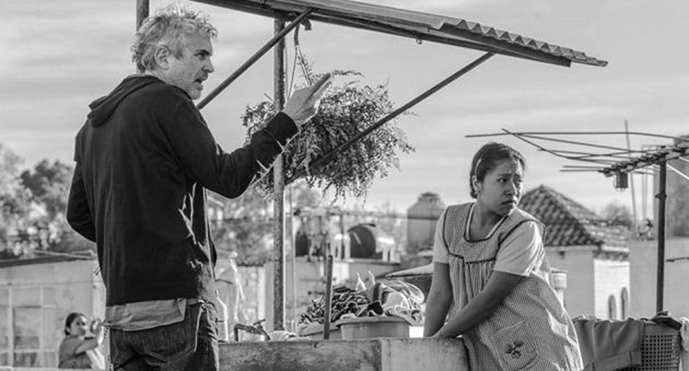 Alfonso Cuarón dedicó el premio a todo México y agradeció a todas las personas con las que trabajó en 'Roma'. (Foto: Netflix)