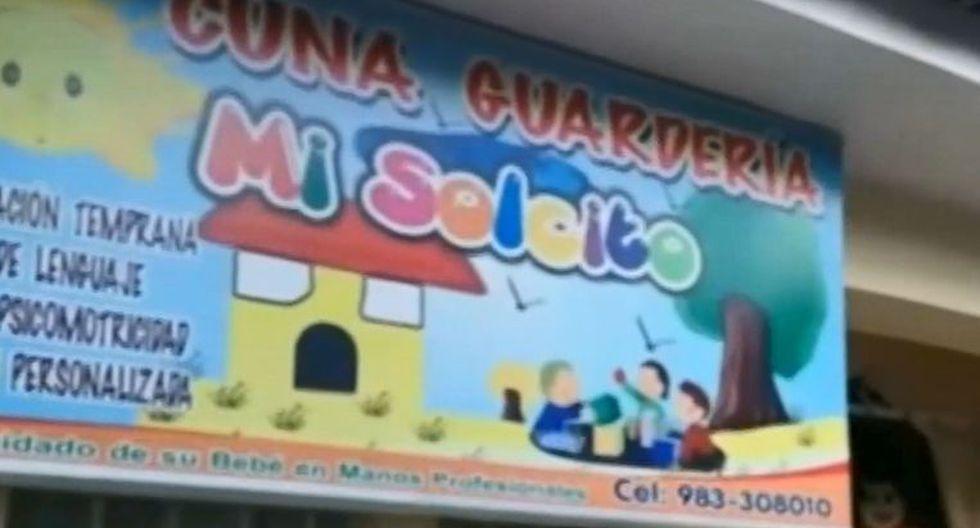 Judy Clavijo Corrales denunció que su hijo de 3 años fue presuntamente dopado al interior del local el pasado 28 de febrero. (Captura: RPP Noticias)