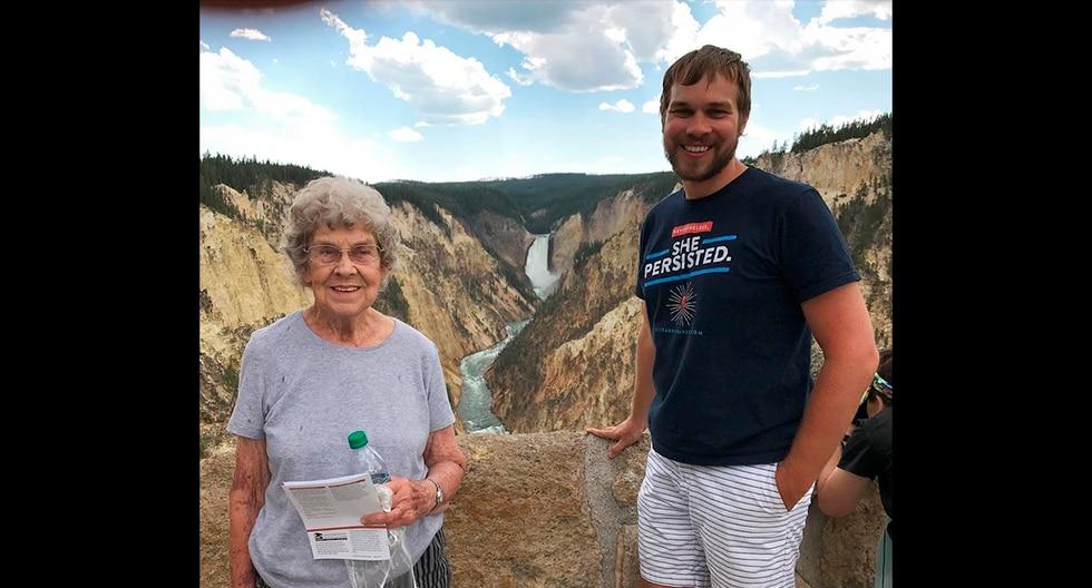 Brand Ryan le cumplió el sueño a su abuela de conocer el mar y viajar por todo el país. Su historia es viral en Facebook. (Instagram | grandmajoysroadtrip)