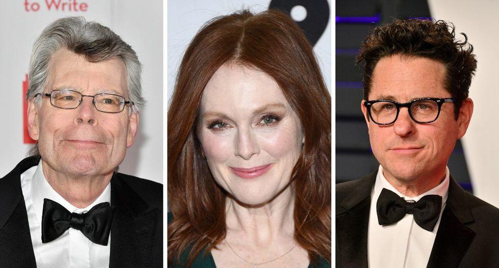 Stephen King, Julianne Moore y J.J. Abrams trabajarán juntos en una nueva serie de televisión para Apple TV+. (Foto: AFP)