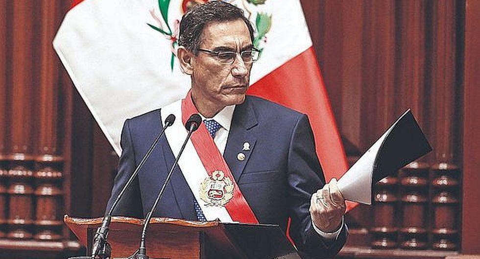 """¿Cuál es el nombre oficial del año 2020? El presidente Martín Vizcarra nombró al 2019 como """"Año de la lucha contra la corrupción e impunidad"""" (Foto: Andina)"""