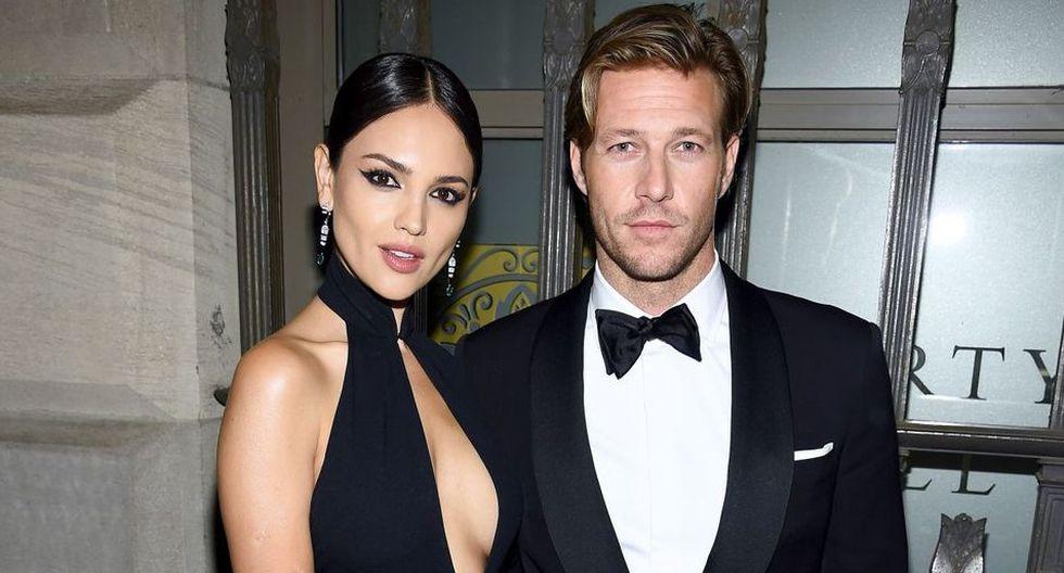 Eiza González y Luke Bracey son la nueva pareja de Hollywood. Foto: instagram
