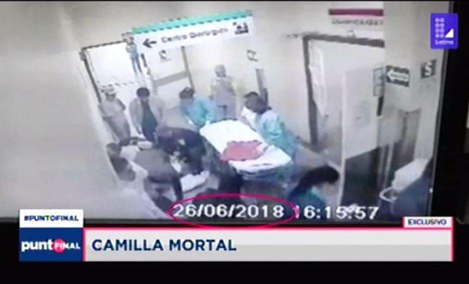 La caída de la paciente ocurrió el 26 de junio del 2018. Ella falleció a los 8 días. (Foto: Punto Final/Latina)