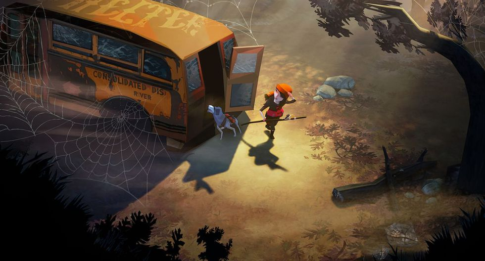 'The Flame in the Flood'. (Foto: The Molasses Flood)