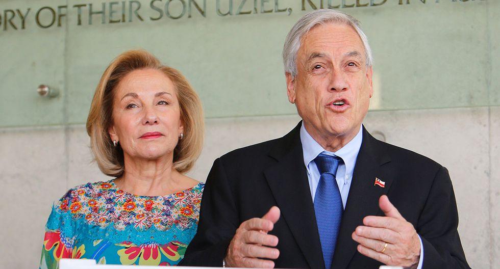 Sebastián Piñera, presidente de Chile, y su esposa, Cecilia Morel. (Foto: AFP/Archivo)