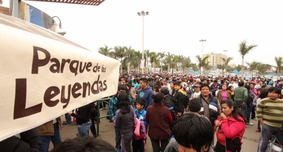 Se espera una gran concurrencia de público al Parque de Las Leyendas en el feriado por el Día del Trabajo. (GEC)