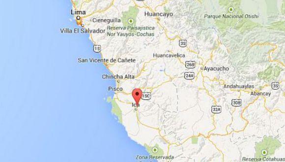 El epicentro de este movimiento telúrico se ubicó a 124 kilómetros al suroeste de la ciudad de Ica y a 40 kilómetros de profundidad en el mar. (Foto: Andina)