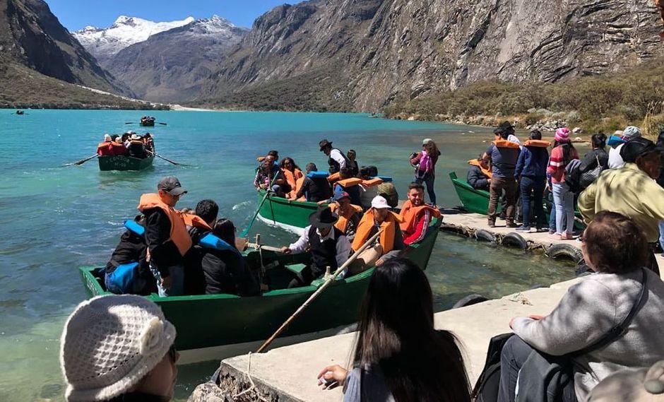 El Parque Nacional Huascarán es uno de los sitios más visitados por los turistas. (Sernanp)