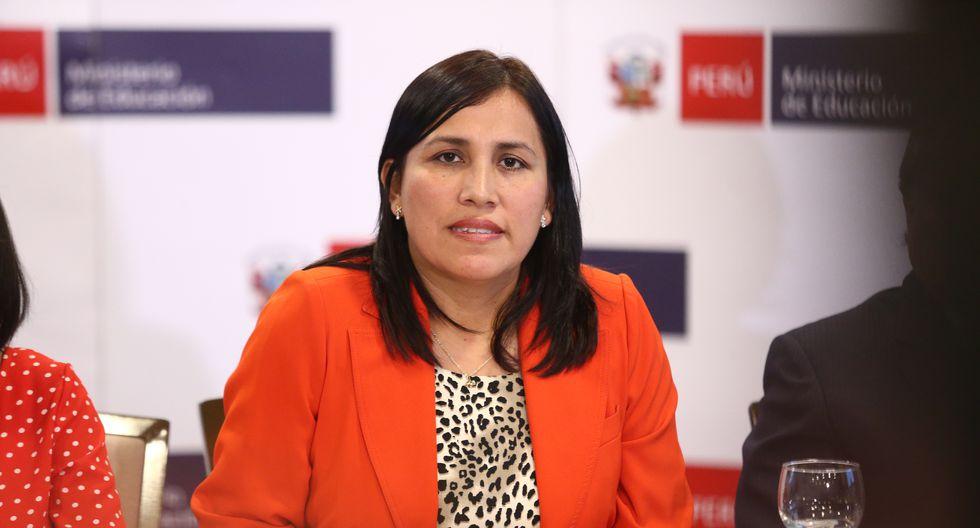 Titular del Minedu se pronunció respecto a que el Perú haya ocupado el puesto 64 de un total de 77 países evaluados en la prueba PISA. (Foto: Archivo/GEC)