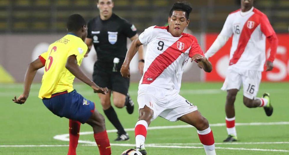Perú va por otra victoria sobre Ecuador en el Sudamericano Sub 17. (Foto: Selección Peruana)
