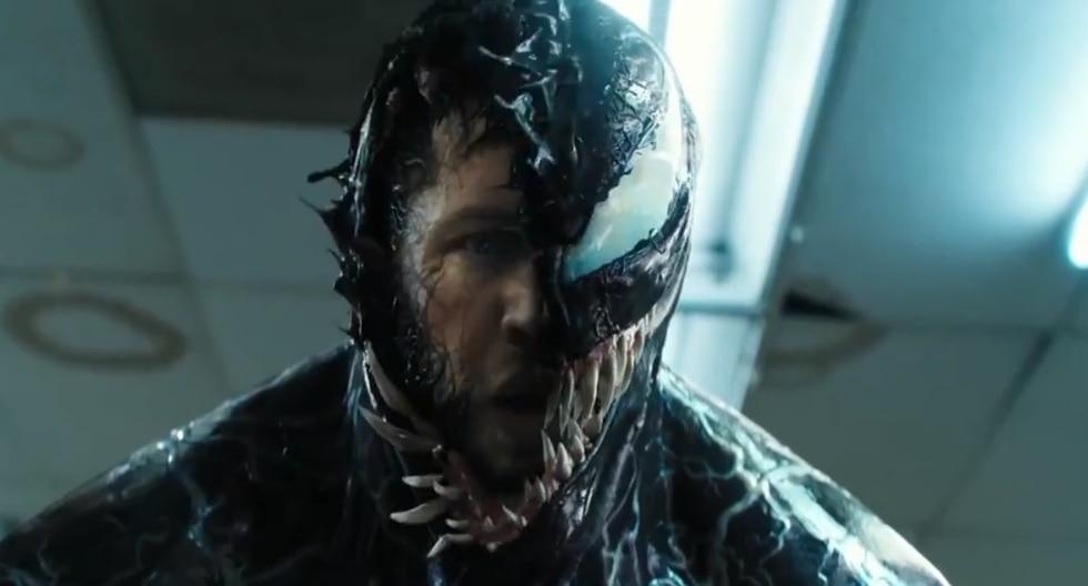 El actor Tom Hardy es quien interpreta al simbionte 'Venom'. (Foto: Captura de video)