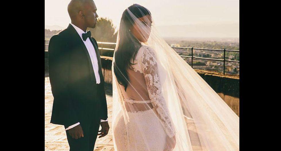 2.Junto a su esposo, el reconocido rapero Kanye West, posee una fortuna compartida de nada menos de 130 millones de dólares. (Fuente: Facebook de Kim Kardashian)