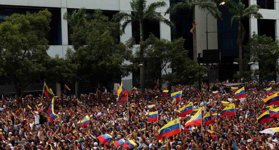Los simpatizantes de la oposición venezolana vuelven a manifestarse en las calles del país para cuestionar la legitimidad del jefe de Estado, Nicolás Maduro. (Foto: EFE)