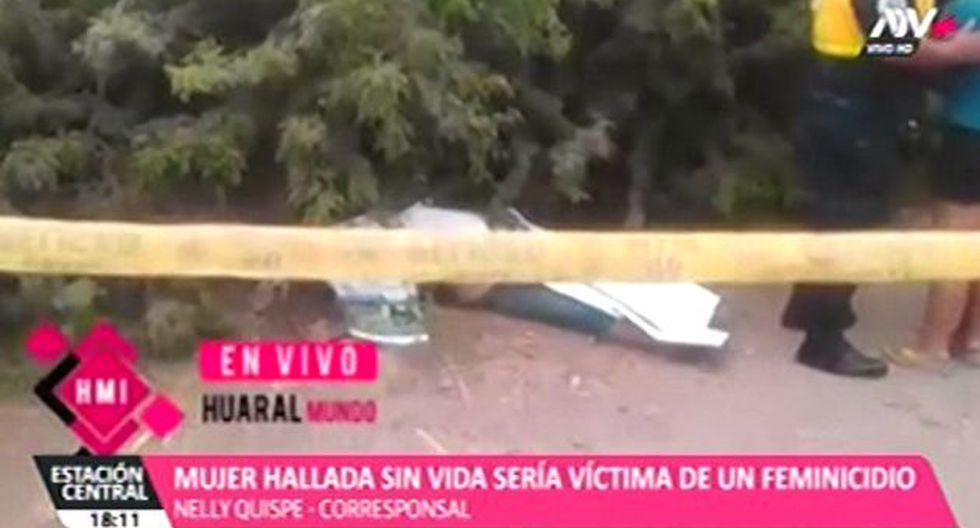 El cuerpo fue hallado por vecino del asentamiento humano San Martín. (Foto: ATV+)