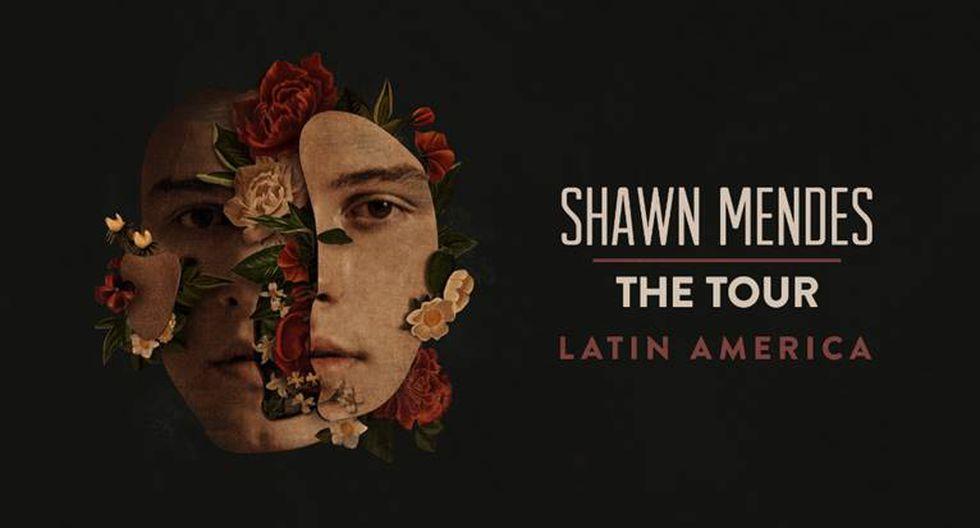 Shawn Mendes anuncia concierto en Perú como parte de su gira en Latinoamérica (Foto: Difusión)
