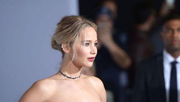 Jennifer Lawrence. (AFP)
