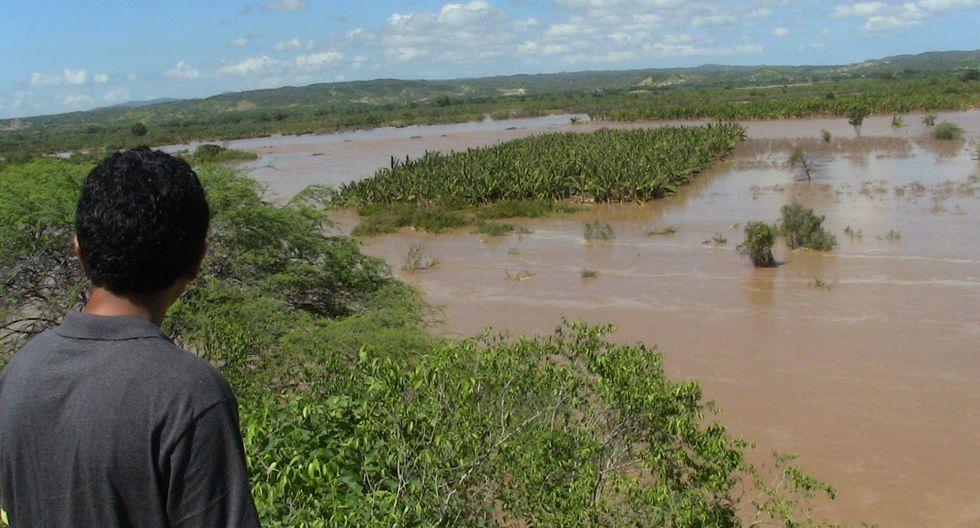 Río Tumbes en alerta roja por aumento de caudal, advierte Senamhi  (Foto: Andina)