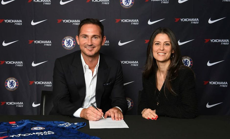 Frank Lampard toma las riendas del Chelsea FC. (Foto: Web Chelsea)