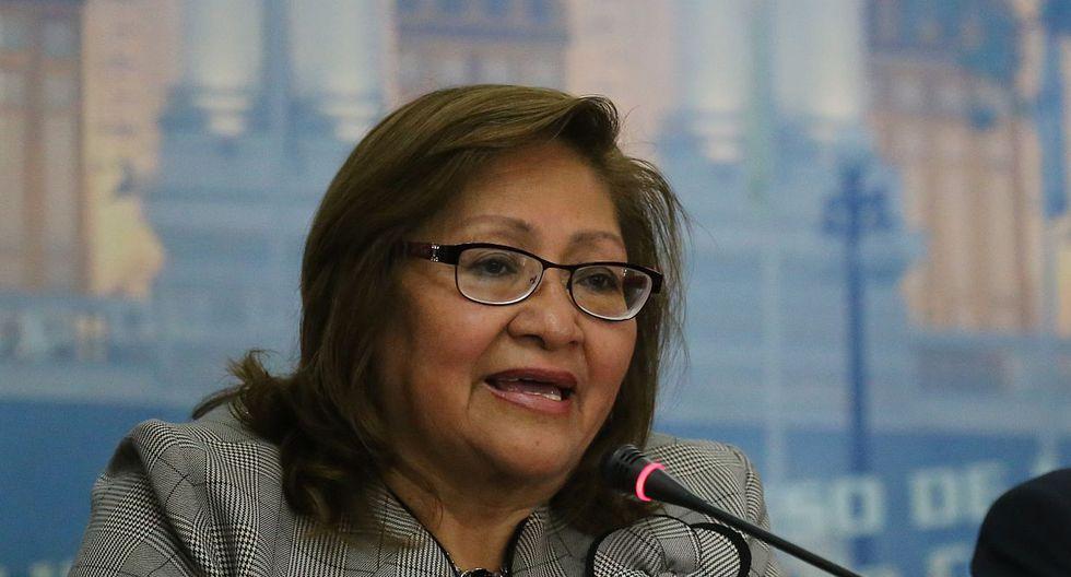 Ana María Choquehuanca, vocera alterna de Peruanos por el Kambio, indicó que Salvador del Solar no le hizo un pedido a Janet Sánchez sobre el caso Salaverry. (Foto: Congreso de la República)