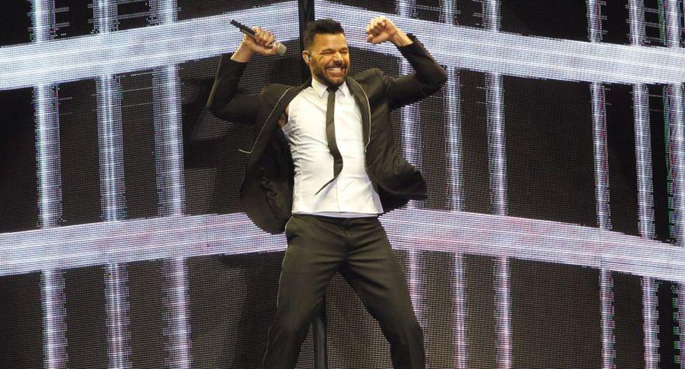 El cantante Ricky Martin estuvo presente en el concierto de Wisin y Yandel y puso a todos a bailar. (Foto: Instagram)