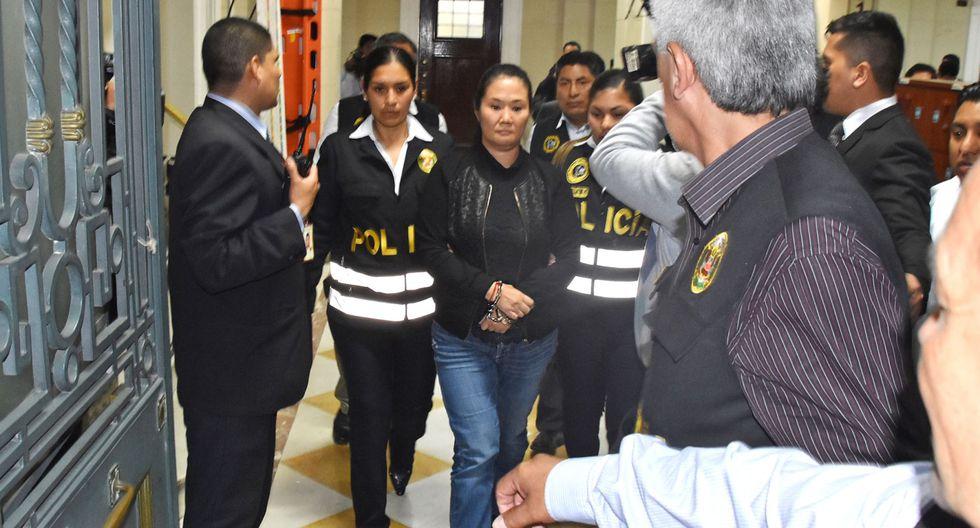 Fujimori Higuchi saludó que audiencia de apelación se realice este sábado 15. (Foto: Andina)
