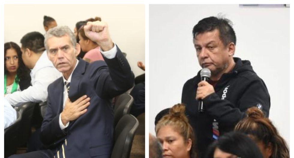 Víctor Albrecht y Juan Sotomayor son sindicados como presuntos cabecillas de la red organización criminal Rich Port II. (Foto: Poder Judicial)
