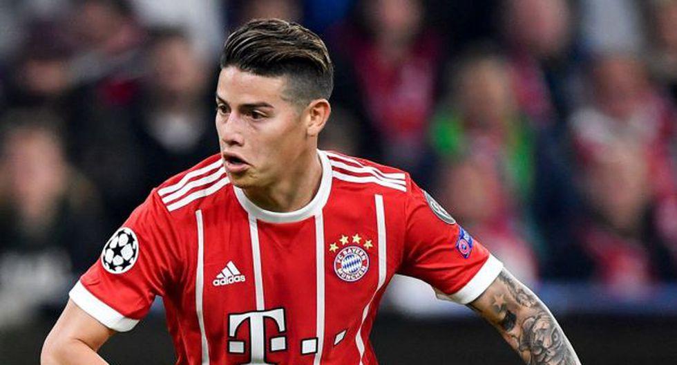 James Rodríguez no continuará en el Bayern Múnich, según Kicker. (Foto: AFP)