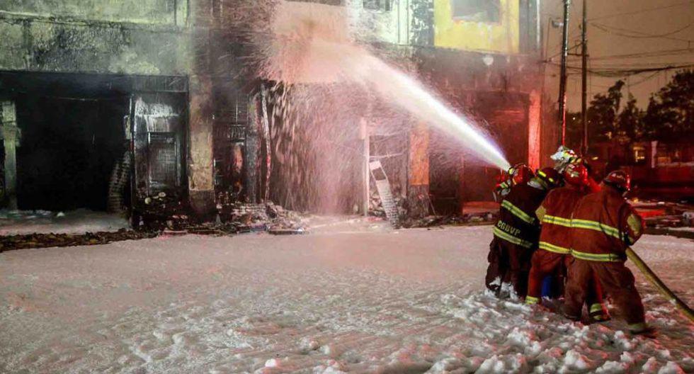 Bomberos,Incendio