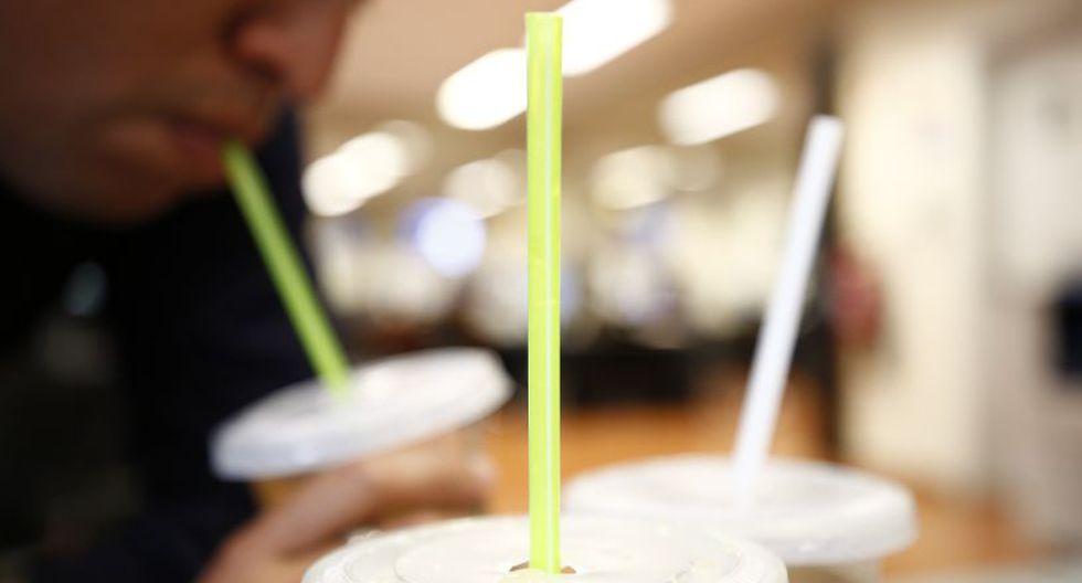 El municipio remarcó que la resolución de Indecopi determinó que la medida emitida el año pasado sobre el uso de sorbetes de plástico era ilegal. (GEC)