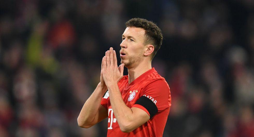 Ivan Perisic será baja en Bayern Munich por una lesión sufrida este martes. (Foto: AFP)