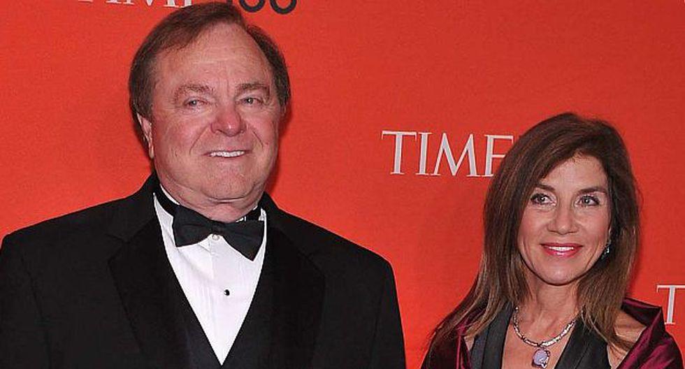 Harold Hamm y Sue Ann (Foto: AFP)