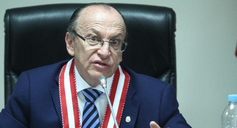 Peláez refirió que la indagación está en una etapa muy avanzada. (Foto: USI)