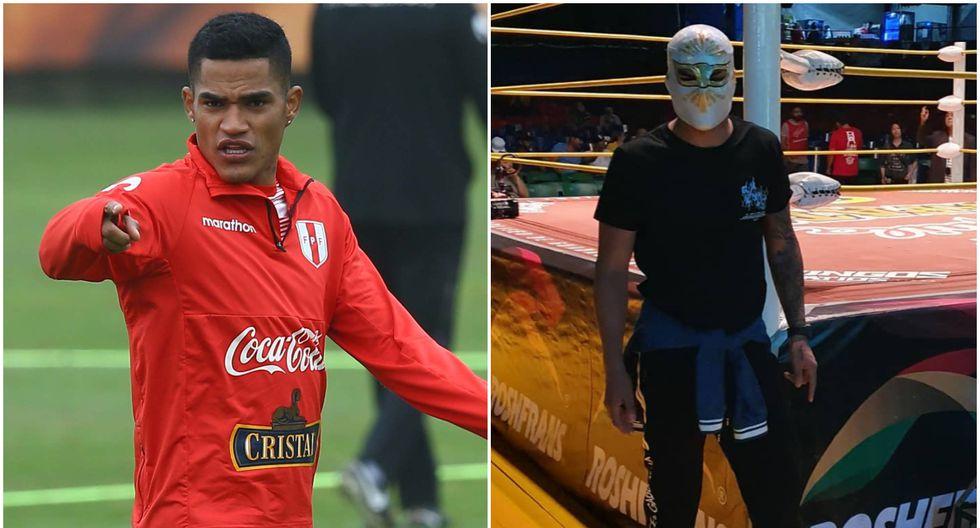 El defensor de la selección peruana aprovechó para disfrutar de la lucha libre mexicana. (Foto: Instagram)