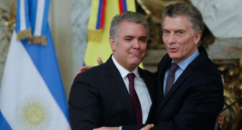 Tanto Argentina como Colombia forman parte del llamado Grupo de Lima, que desde agosto de 2017 analiza y da seguimiento a la cri