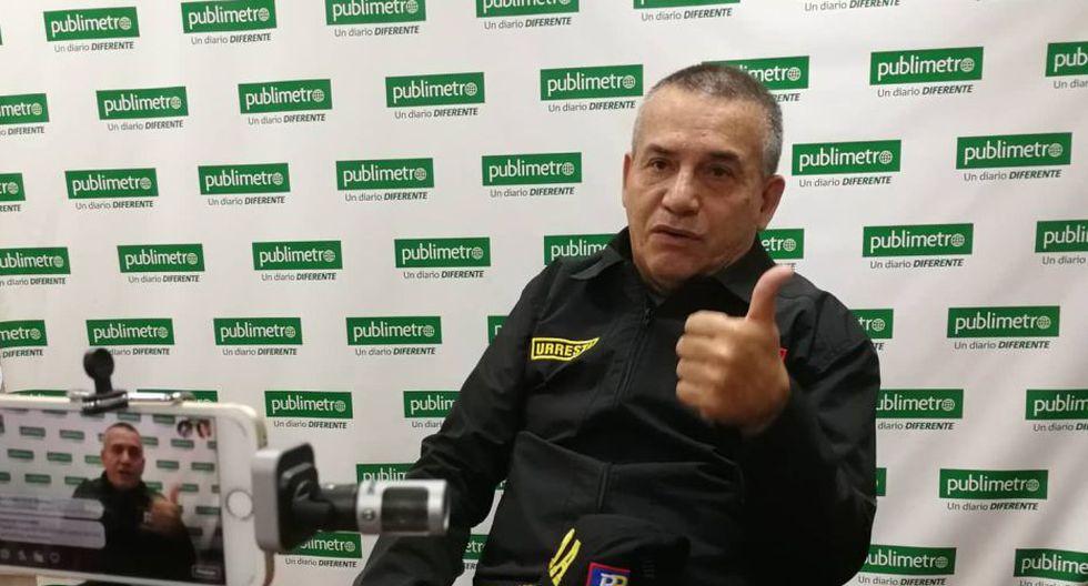 Daniel Urresti dio a conocer sus propuestas para la alcaldía de Lima. (Publimetro)