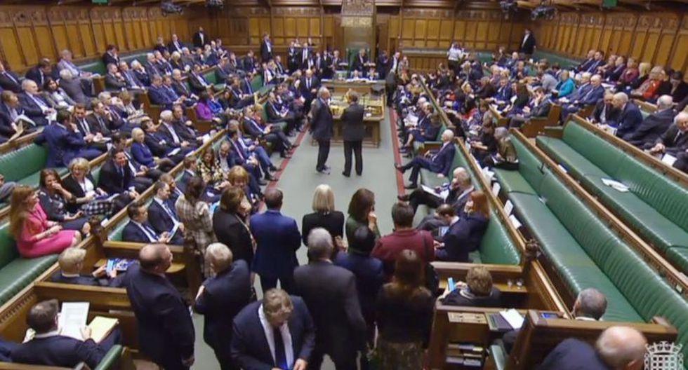 Esta será la tercera vez que la primera ministra británica, Theresa May, somete a votación el documento de retirada. (Foto: EFE)