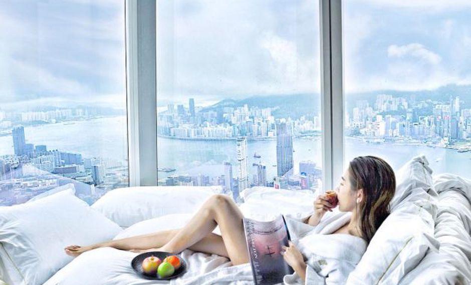 Alójate en los hoteles más altos del mundo y vive una experiencia única