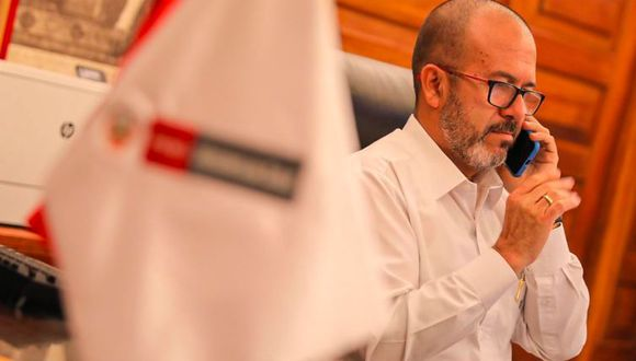 El ministro de Salud, Víctor Zamora, se refirió a los profesionales de su sector el último fin de semana. (Fotos: Minsa)