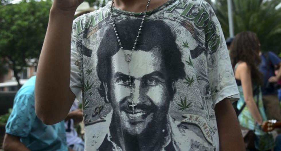 """""""Pablo Escobar había reservado campos de fútbol para los jóvenes y una pequeña biblioteca. De esa forma los jóvenes no consumían cocaína porque este producto estaba orientado a la exportación"""", dijo el ministro. (Foto: AFP)"""