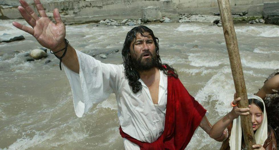 Mario Valencia, más conocido como 'Cristo Cholo', se encuentra internado en el hospital de Collique. (GEC)