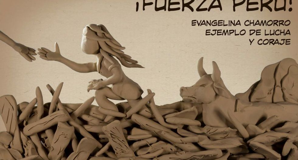 El autor del la reproducción hecha con plastilina es el colombiano Edgar Humberto Álvarez.