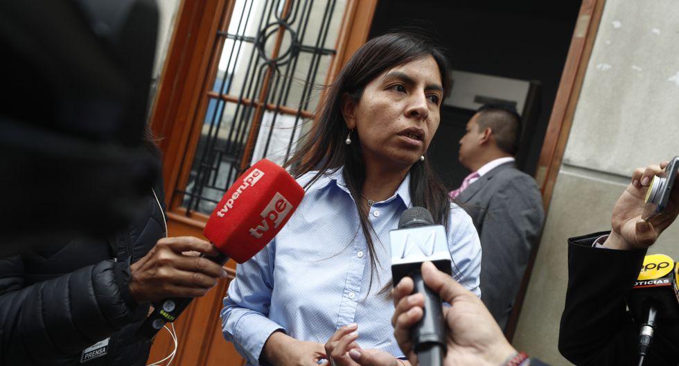 """Loza reiteró que el aporte de empresarios a la campaña presidencial del 2011 """"es lícito"""". (Foto: GEC)"""