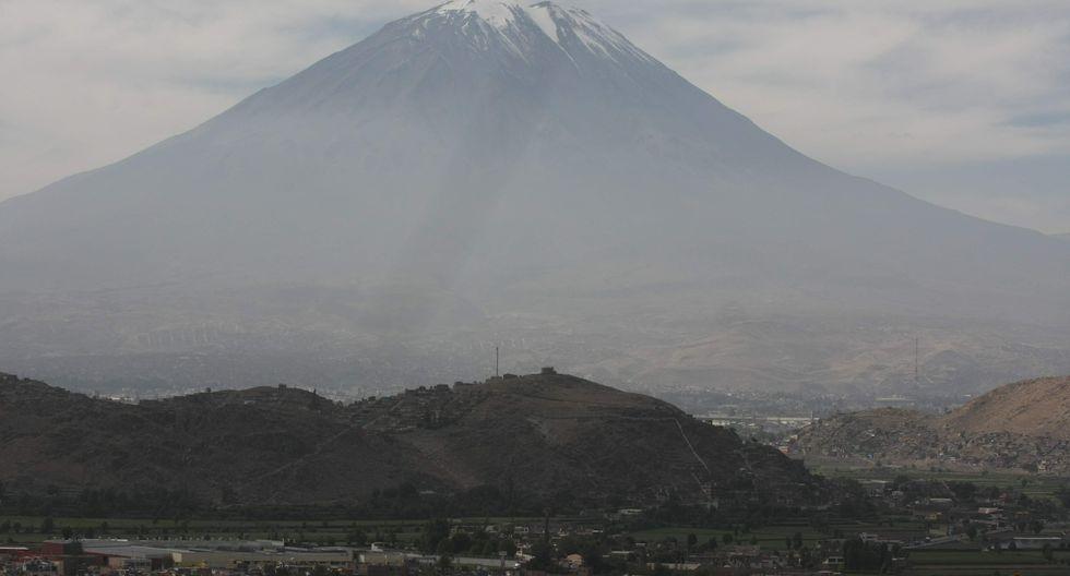 La obra se viene desarrollando en el distrito de Sachaca (Arequipa), a 24 kilómetros del cráter del volcán Misti. (Foto: GEC)