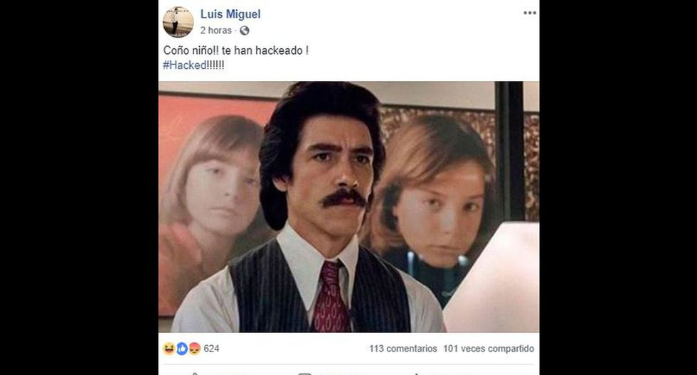 Estos son los irónicos mensajes que compartieron en el Facebook de Luis Miguel. (Foto: Facebook)