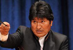"""Morales tilda de """"golpe"""" la """"autoproclamación"""" de senadora como presidenta de Bolivia"""