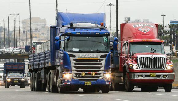 Jorge Muñoz hizo importante anuncio sobre 'pico y placa' para camiones. (Foto: Andina)