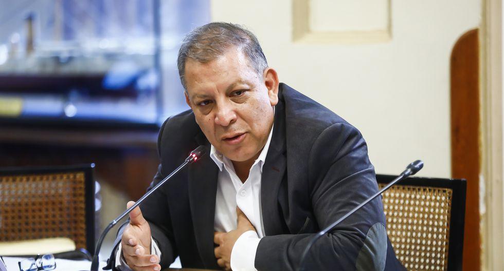 Marco Arana, miembro del Frente Amplio, consideró que hay criminalización de la protesta. (Foto: Congreso)