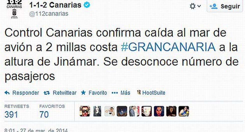 (Foto: Twitter - @112Canarias)