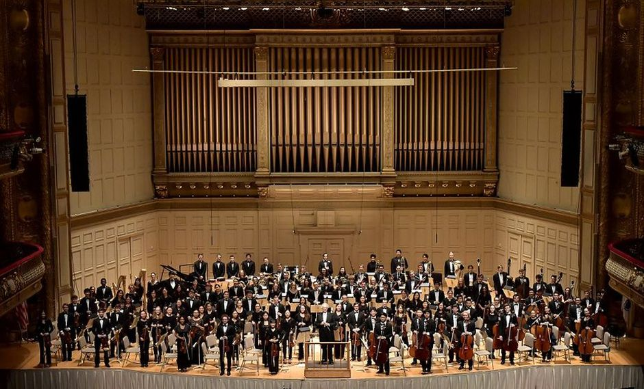 Orquesta Filarmónica Juvenil de Boston por primera vez en Lima