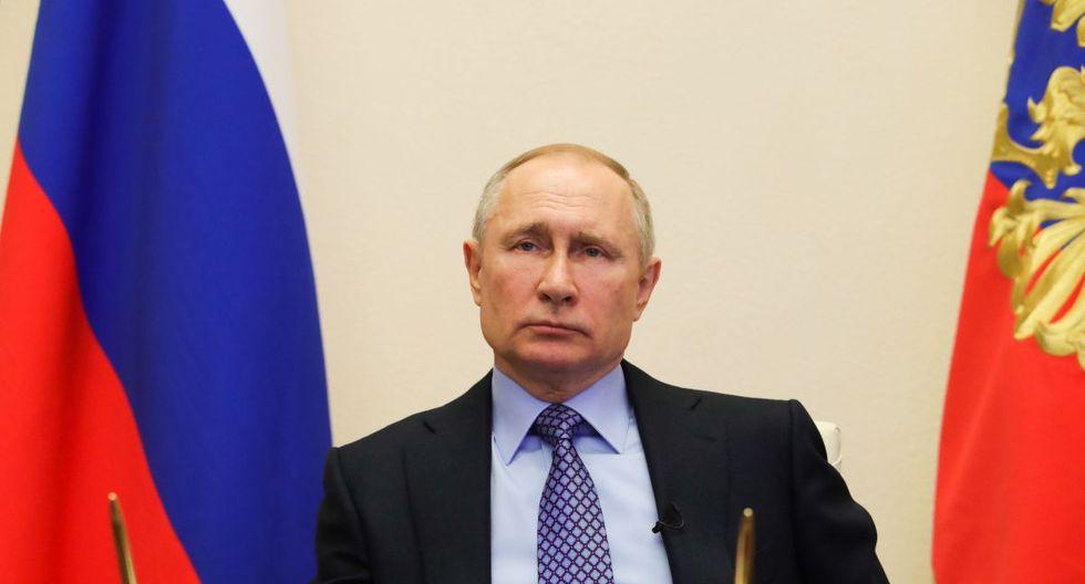 El mandatario de Rusia, Vladimir Putin. (Foto: EFE/Mikhail Klimentyev)